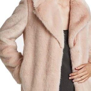 Zara Pink Faux Fur